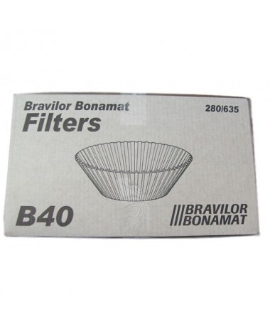 Bravilor Filterpaper conical B40