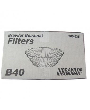 Bravilor korffilterpapier B40