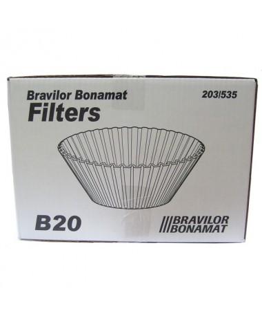 Bravilor Filterpaper conical B20