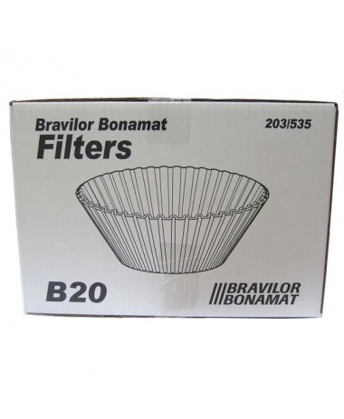 Bravilor Filtres en papier conique B20