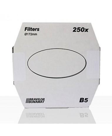 Bravilor filtres en papiers ronds (plats) B5