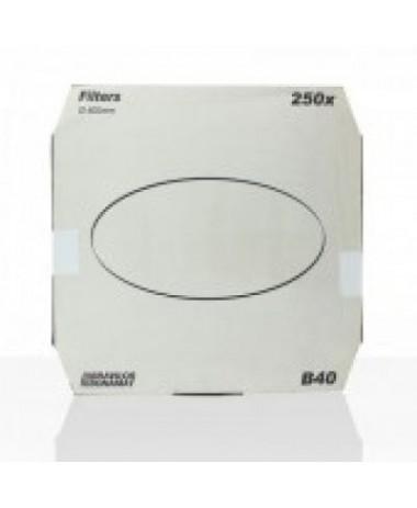 Bravilor filtres en papiers ronds (plats) B40