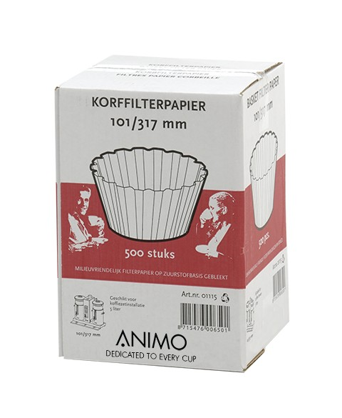 Animo basket filter paper 101/317