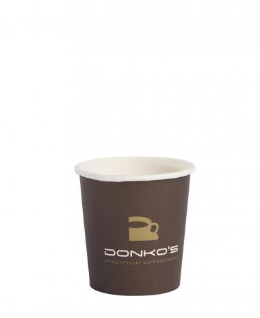 Coffee cup Donko's 120cc-4oz 50 stuks