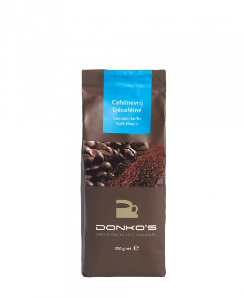 Donko's Decaffeinated 250 gr. Grinded