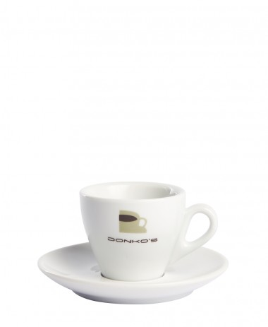 Cup and saucer Donko's Espresso