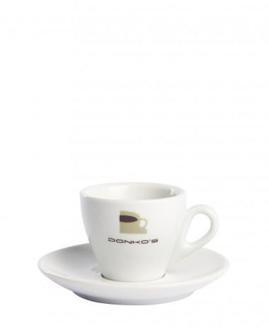 Tasse et sous tasse Donko's Espresso
