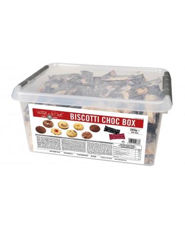 Biscotti Choc Box 320st/pc