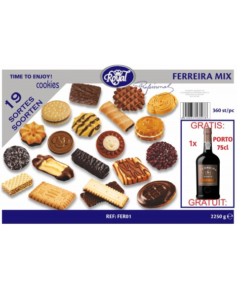 Royal Ferreira mix box 360 st. + gratis Porto