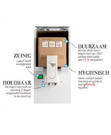 Lattiz 4 liter milk bag-in-box