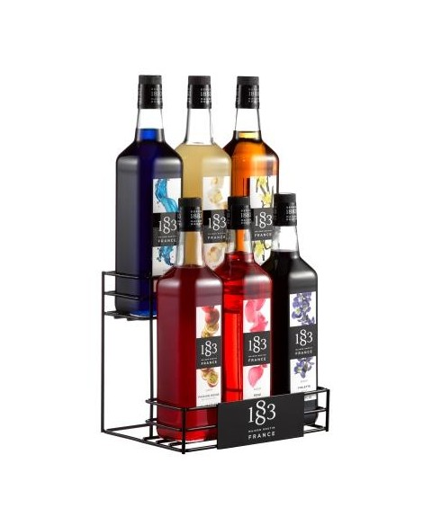Routin 1883   Bottle rack 6 bottles