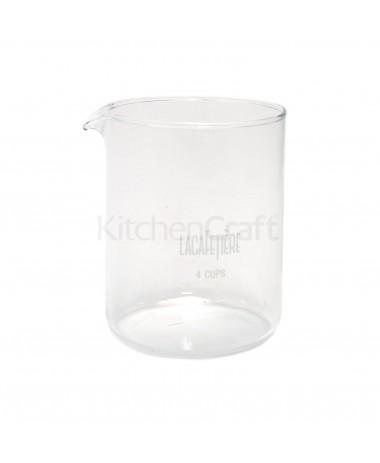 Vervangglas La Cafetière 4 cup